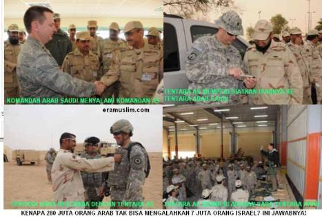 Arab Saudi Pinjamkan Pangkalan Militer Kepada AS untuk Serang Iraq