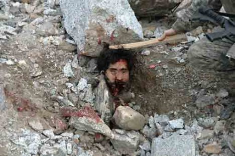 Korban Kebiadaban AS (Yahudi dan Nasrani) di Afghanistan