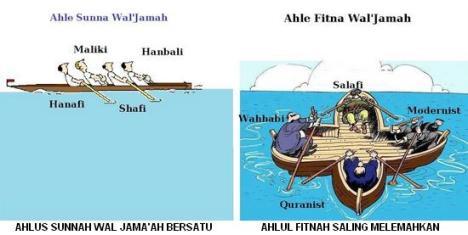Beda Ahlus Sunnah wal Jama'ah vs Ahlul Fitnah wal Jama'ah
