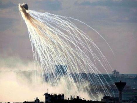 Bom Fosfor Putih Israel Hujani Gaza
