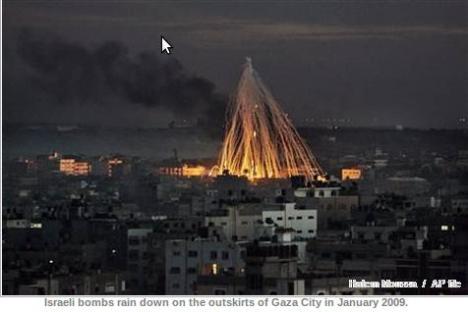 Israel Hujani Gaza dengan Bom