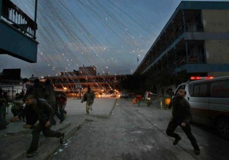 Hujan Bom di Gaza