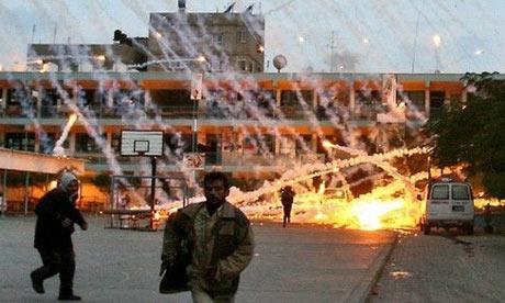 Bom Fosfor putih hujani Gaza