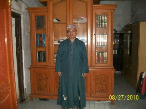 KH Thabari, Keturunan Syaikh Nawawi Al Bantani