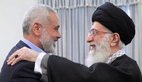 PM Palestina Ismail Haniyeh dan Imam Ali Khamenei