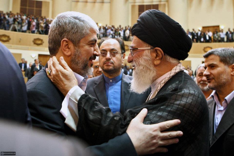 Khaled Meshaal dan Imam Syi'ah Ali Khamenei