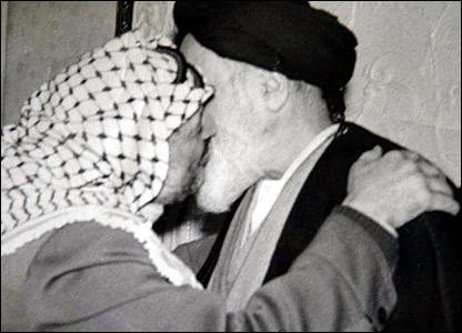 Khomeini dan Yasser Arafat