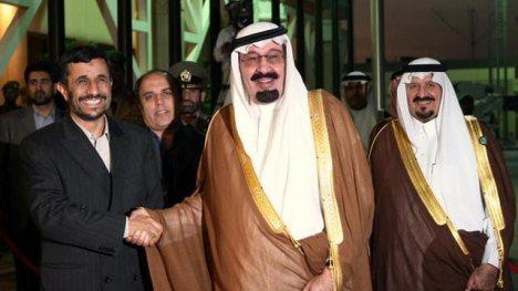 Raja Abdullah dan Ahmadinejad