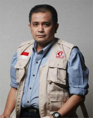 Joserizal jurnalis = relawan mer-c