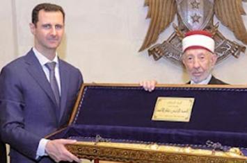Said Ramadhan Al-Buthi dan Bashar Al Assad