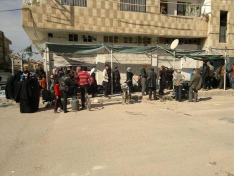 Pasar Al Mahatta di Deraa