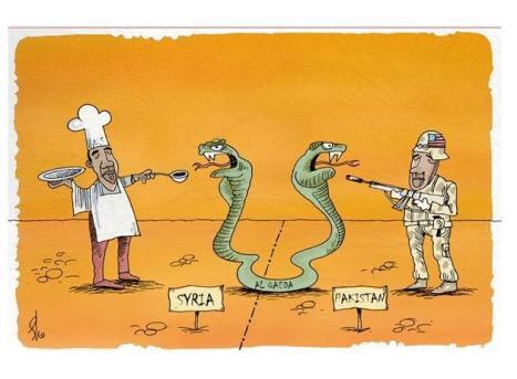 Al Qaida di Pakistan dan Suriah