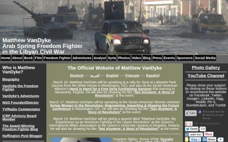 Matthew van Dyke's Blog