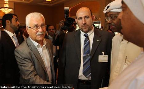 Pemimpin Pemberontak Suriah George Sabra