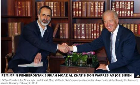 Pemimpin Suriah Boneka AS dgn Wapres AS