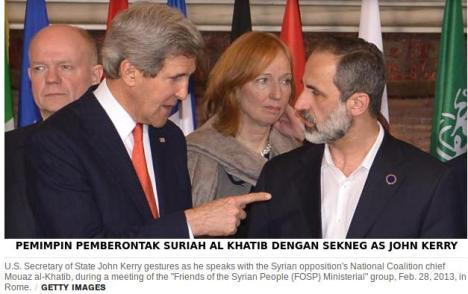 Pemimpin Suriah Boneka AS