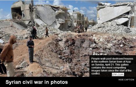 Perang Saudara di Suriah