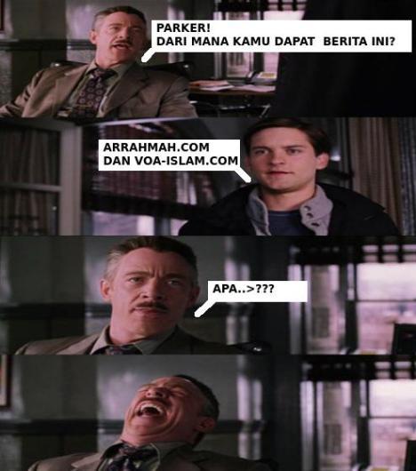 Peter Parker dan Arrahmah.com