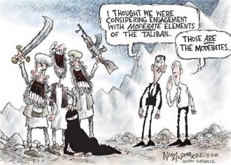 Obama Berunding dengan Taliban