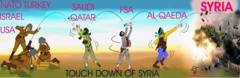 Touch Down di Suriah