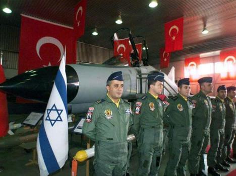Pesawat Tempur Turki dan Israel