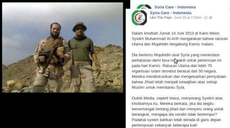 Foto Palsu Syria Care Indonesia