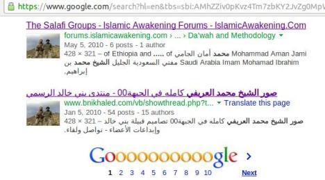 Hasil Pencarian Foto Serupa di Google Images