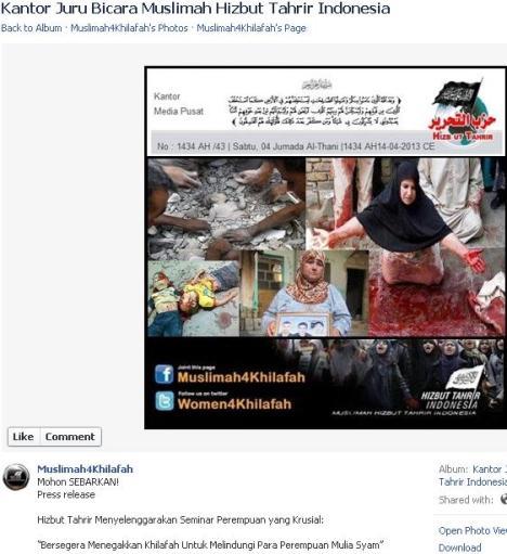 Korban di Iraq Foto Palsu Hizbut Tahrir