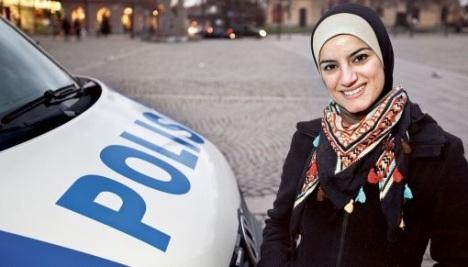 Polisi Wanita Muslim Swedia