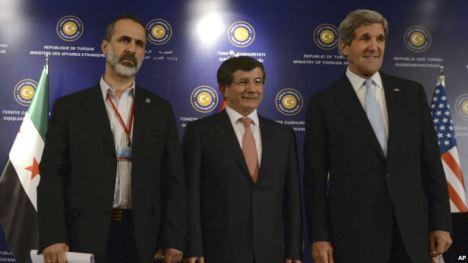 John Kerry dan Pemberontak Suriah