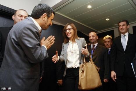 Ahmadinejad Salaman