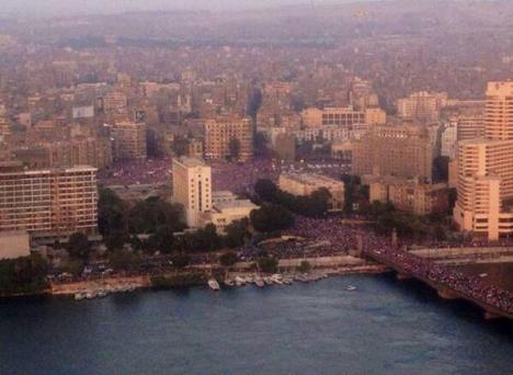 Demo Anti Mursi di Tahrir Square
