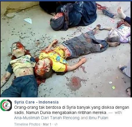 Fitnah Syria Care 1 Maret 2013