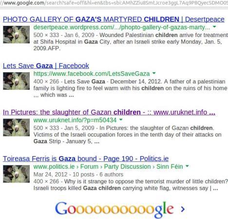 Foto Google Palestina