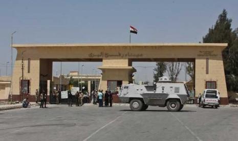 Perbatasan Rafah Mesir Gaza