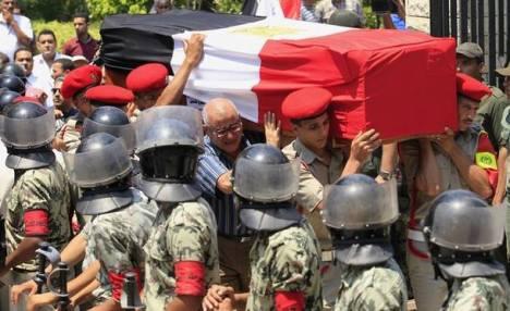 113 Tentara Mesir Syahid Ditembak Teroris Bersenjata