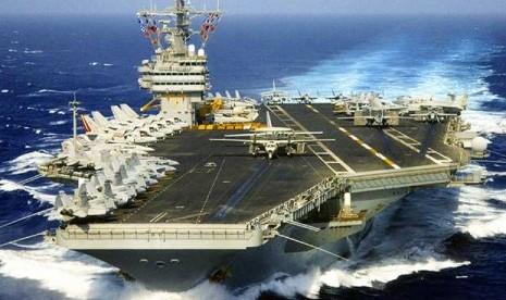Kapal Perang AS USS Nimitz