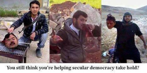 Pemberontak Wahabi Suriah