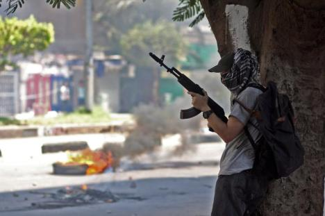Pendukung Bersenjata Mursi
