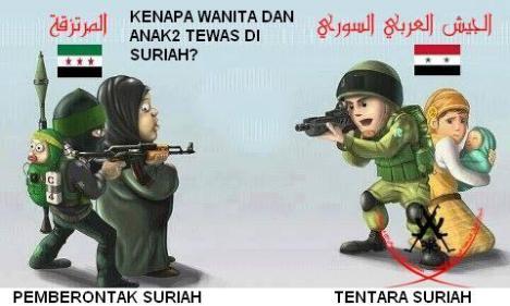 Tentara Suriah vs Pemberontak Suriah