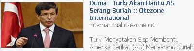 Turki Bantu AS Serang Suriah