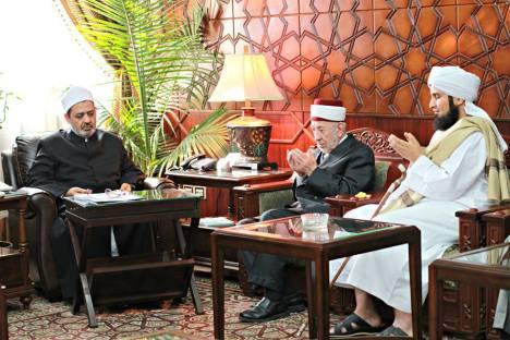 Syeikh Ahmad Thayyib dan Syeikh Al Buthi