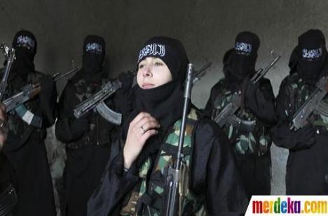 Mujahidin Wanita - ILUSTRASI