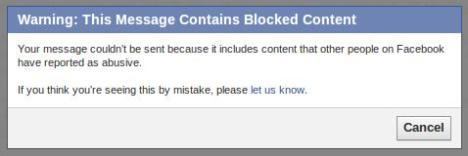 Blokir di FB