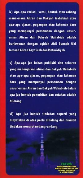 Fatwa Wahabi 6