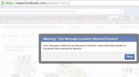 Wahabi Blokir FB