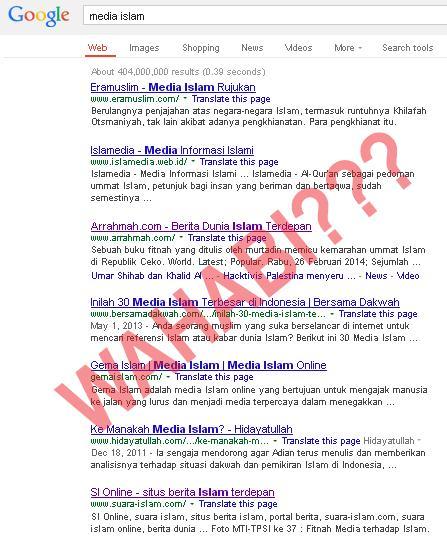 Google Wahabi