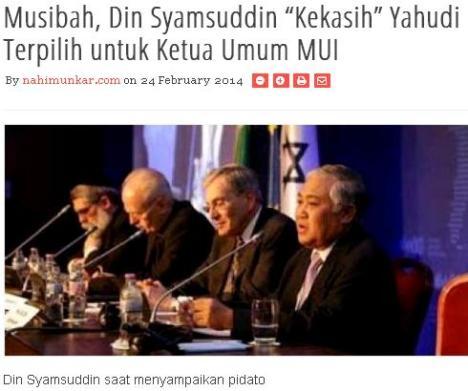 Din Syamsuddin NahiMunkar