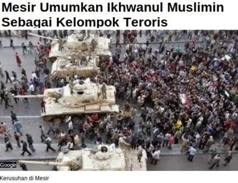 IM Teroris Mesir