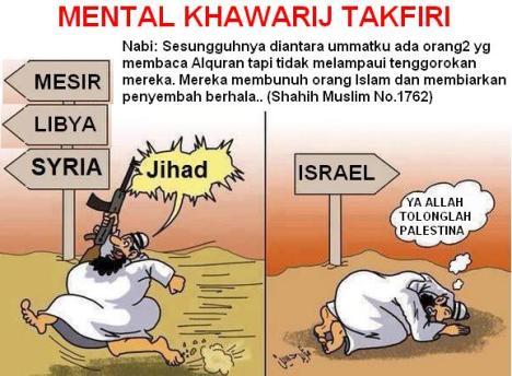 Mental Khawarij Takfiri